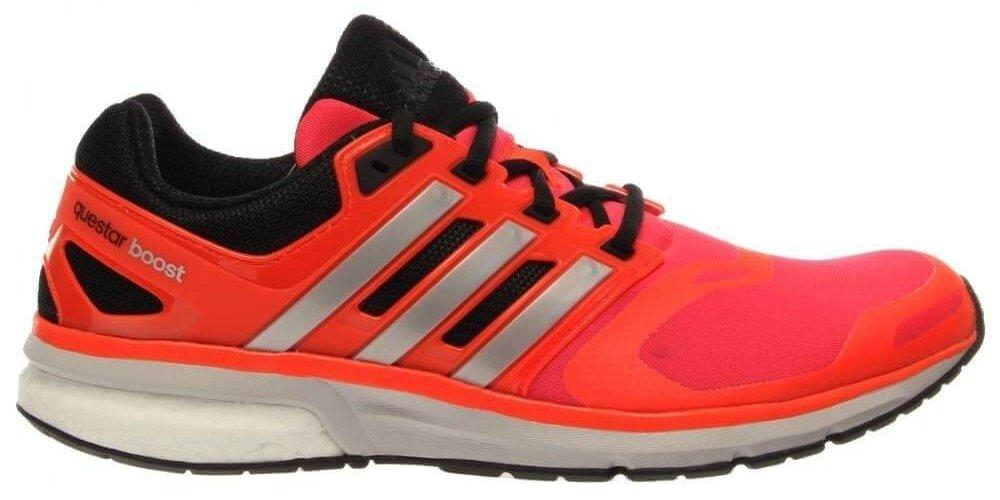 The high heel drop of the Adidas Questar Boost helps acclimate beginners to a running routine.