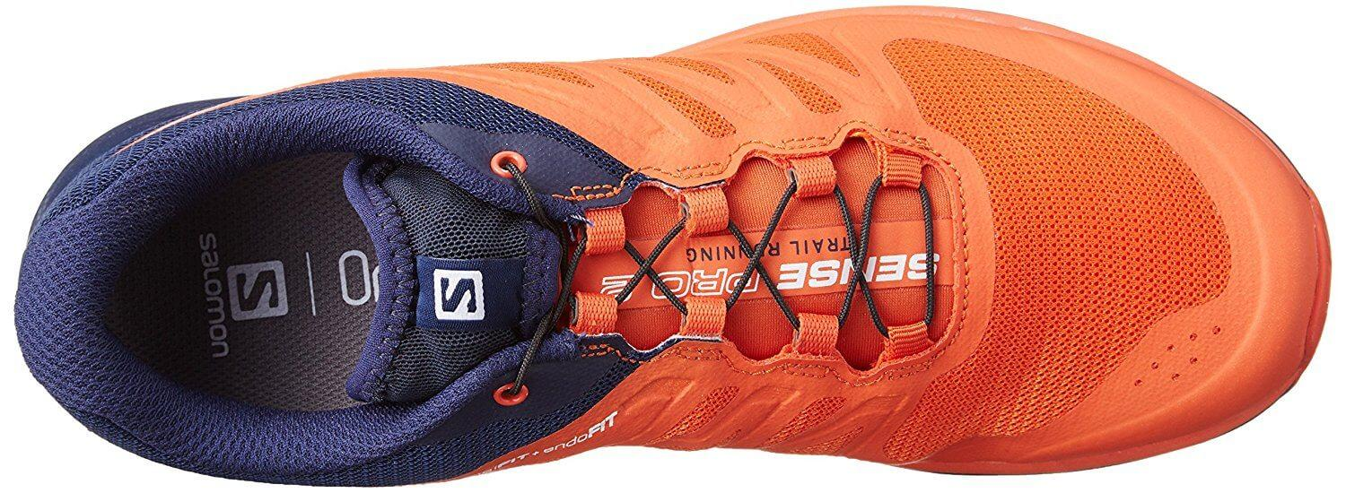 An Endofit inner sleeve can be found inside the Salomon Sense Pro 2.