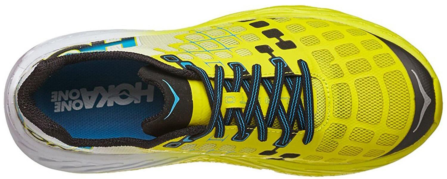 Hoka One One Clayton. Upper