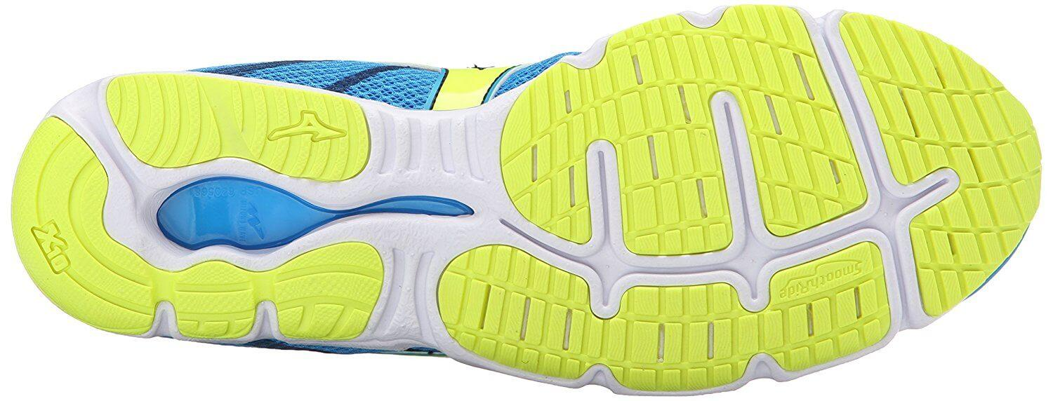 Mizuno Wave Hitogami 3 Outsole Bottom
