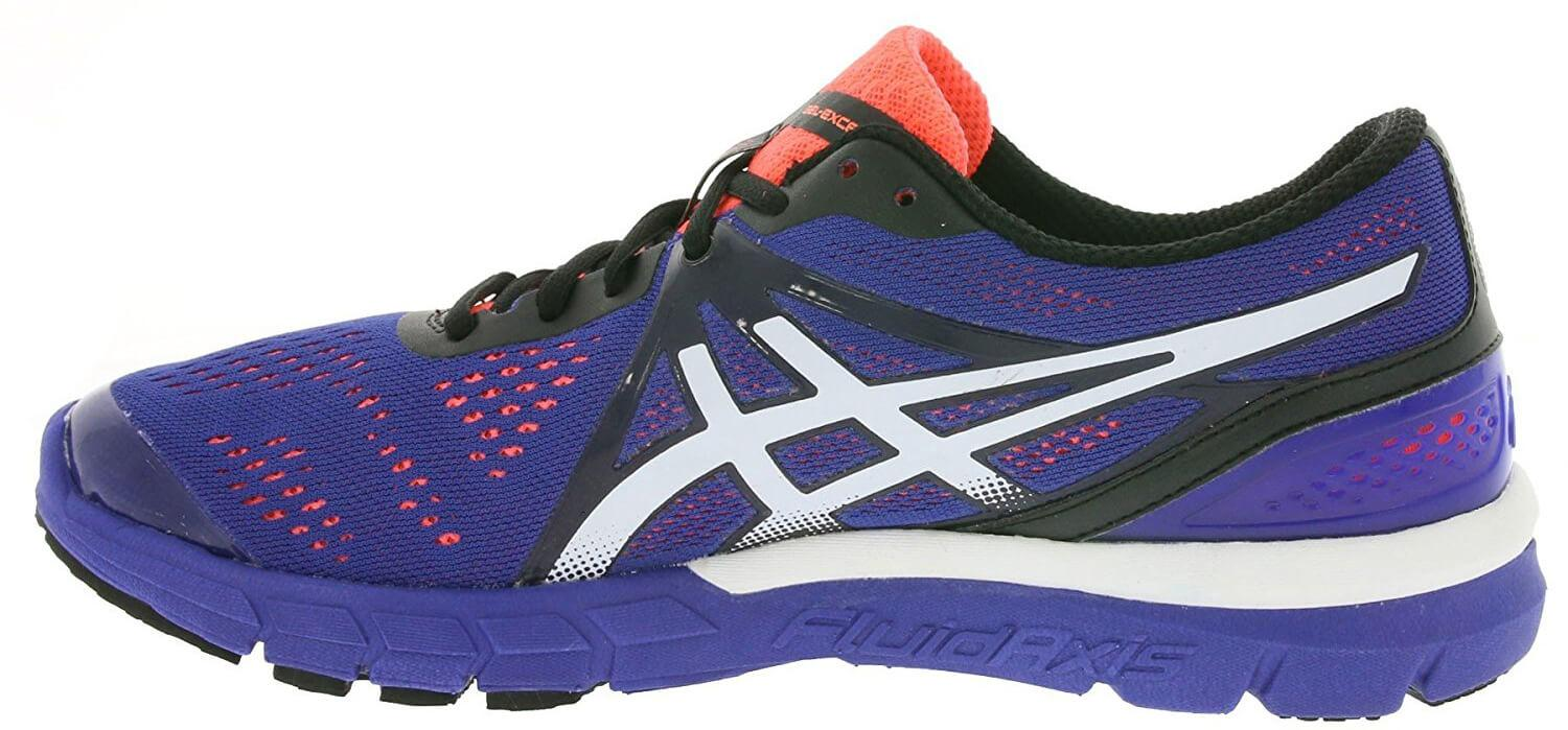 A side view of the Asics Gel Excel33