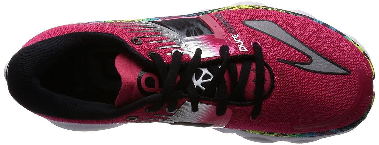 A top view of the Brooks Purecadence 4