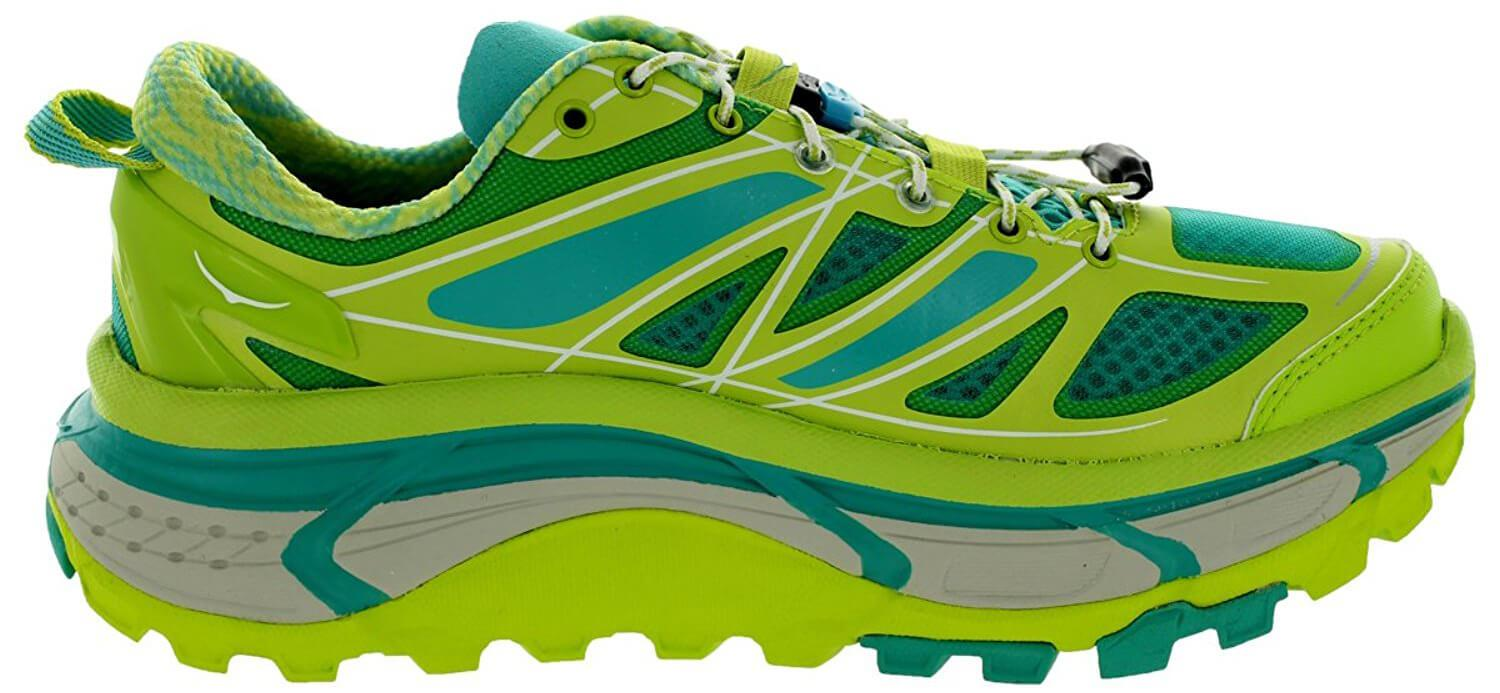 A side view of the Hoka One One Mafate Speed