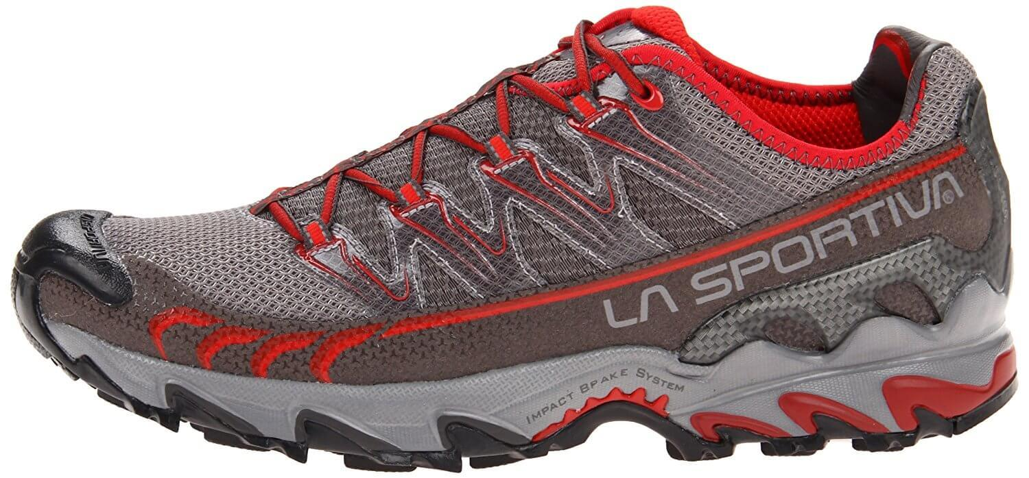 A side view of the La Sportiva Ultra Raptor GTX