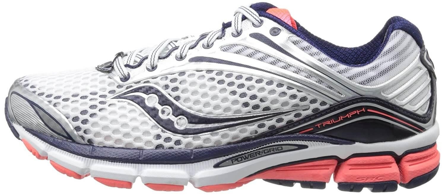 A side view of the Saucony Triumph 11