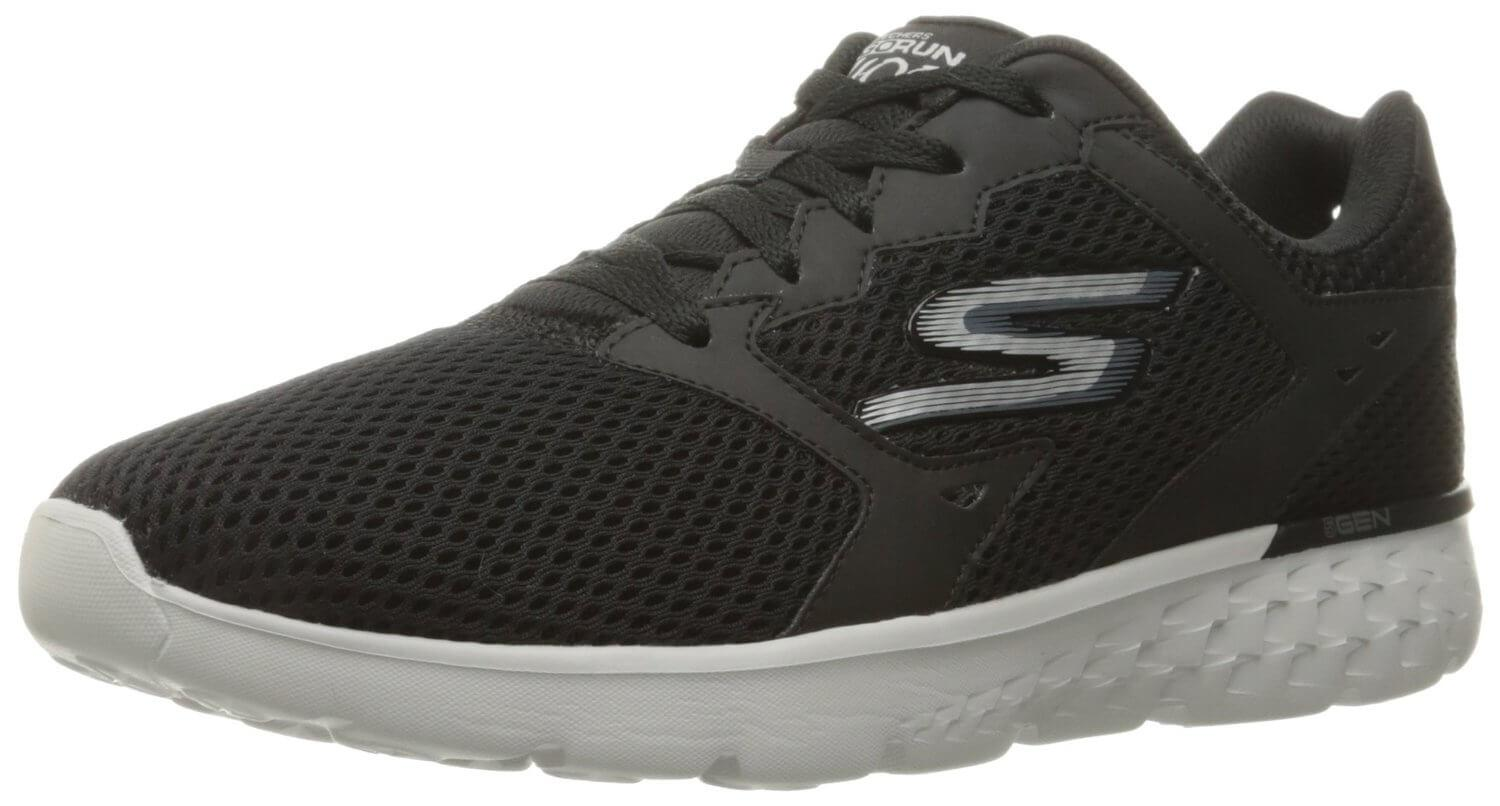 5e4e08b9388 A three quarter view of the Skechers GOrun 400 Running Shoe ...
