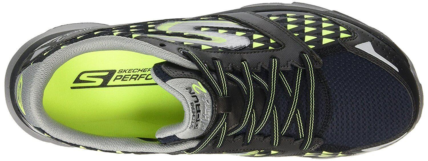 A top view of the Skechers GOrun Ultra 2