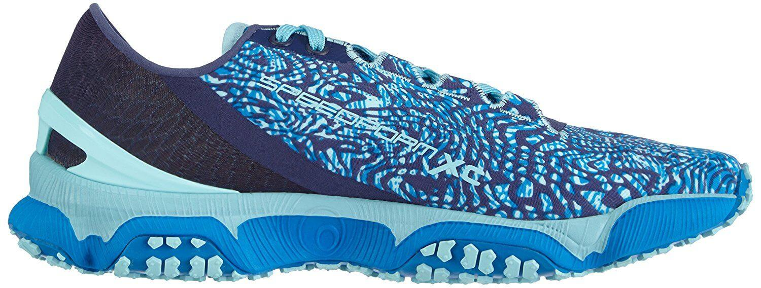 Under Armour SpeedForm XC left to right