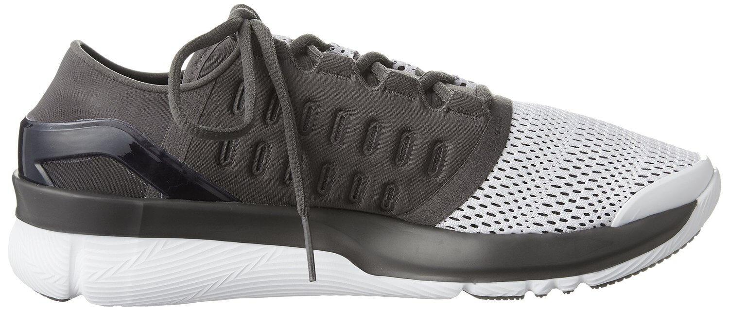 A side view of the Under Armour Speedform Apollo 2