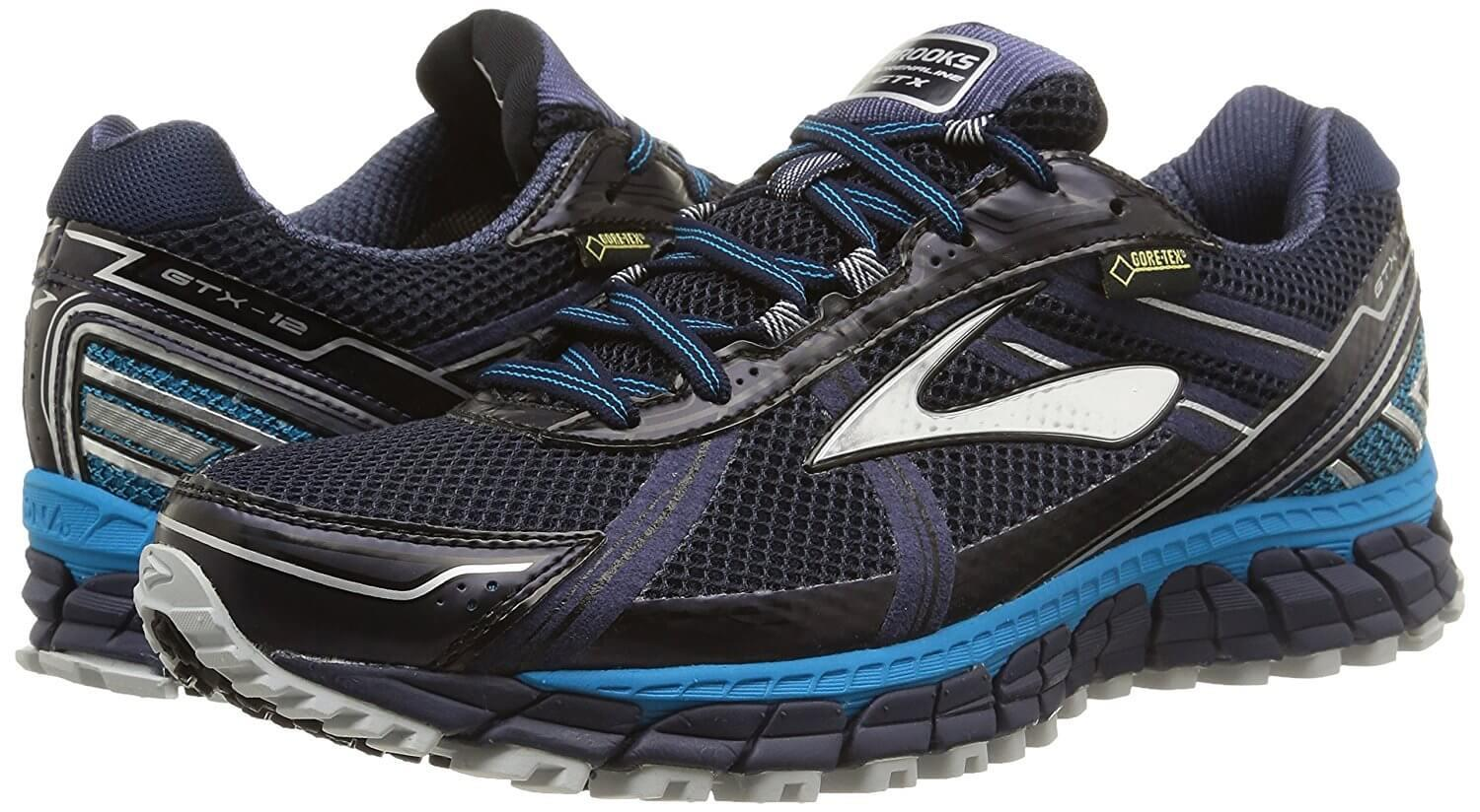 Pair of the Brooks Adrenaline ASR 12 GTX Running Shoes