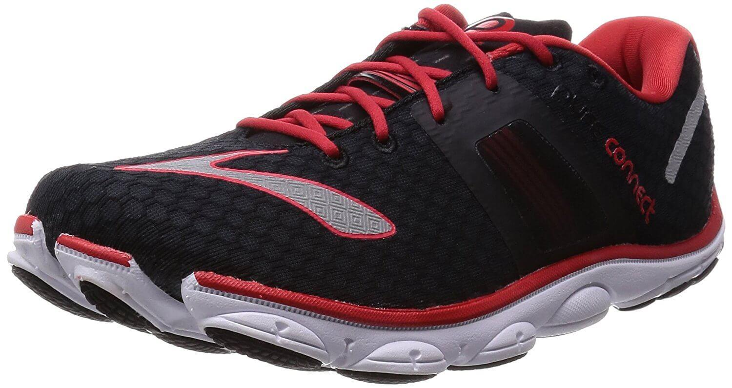 3a715e60334b2 A three quarter perspective of the Brooks PureConnect 4 running shoe ...