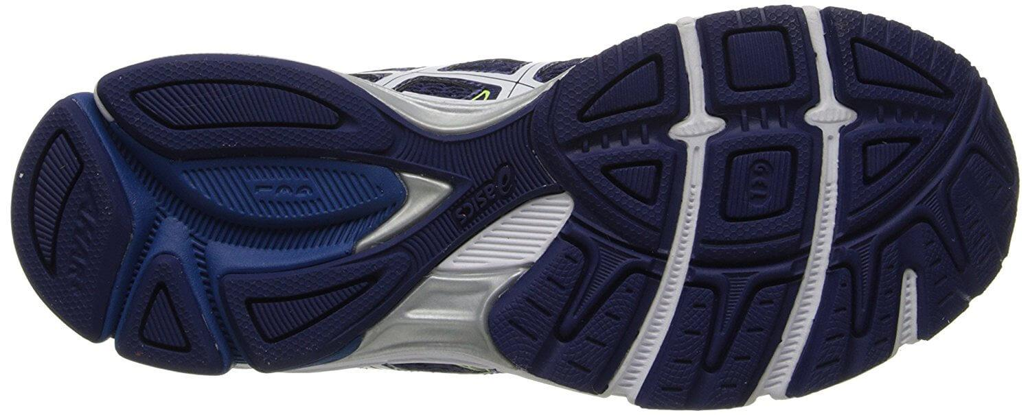 AHAR rubber was used for the ASICS Gel Exalt 2's outsole.