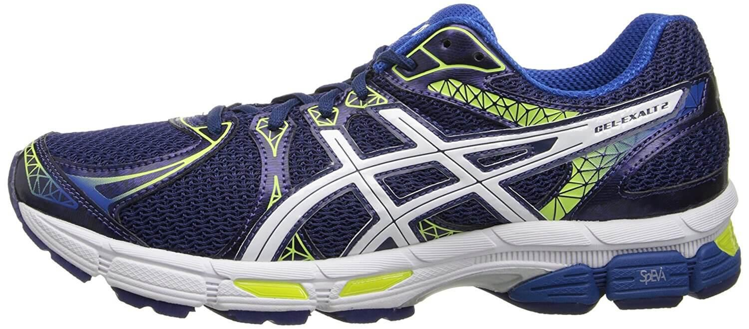 No stylistic surprises are present in the design of the ASICS Gel Exalt 2.