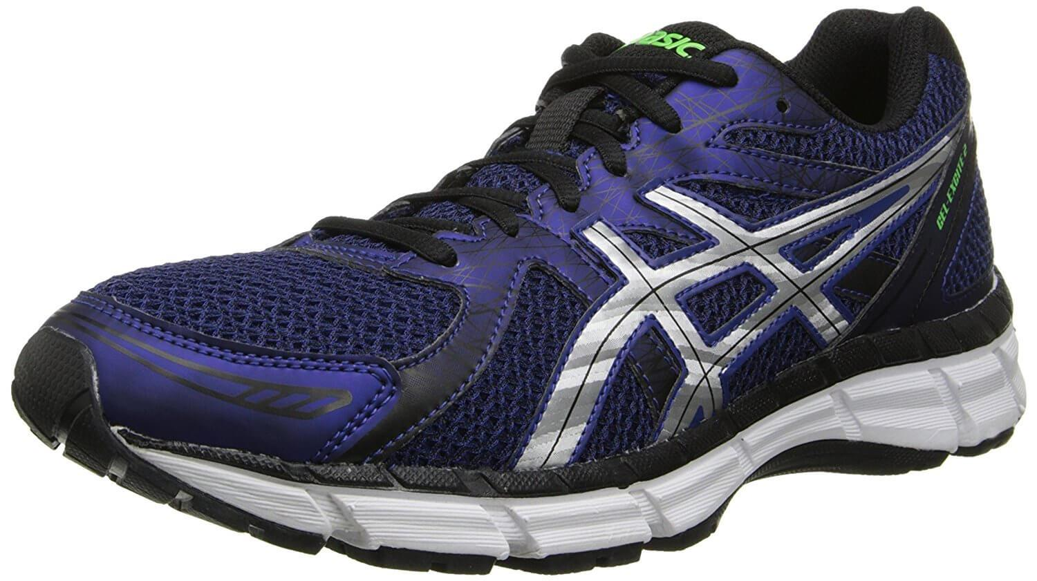 A three quarter view of the Asics Gel Excite 2