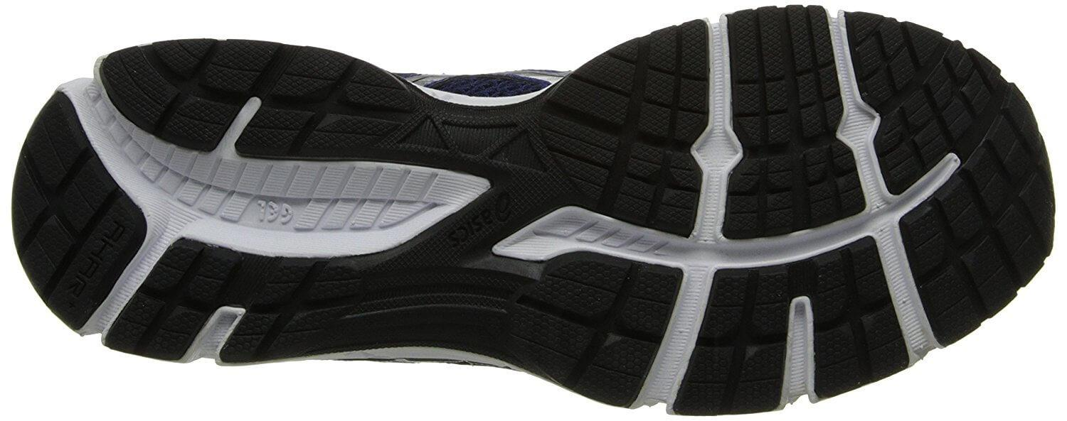 A bottom view of the Asics Gel Excite 2