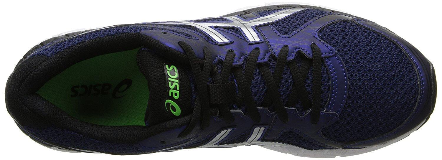 A top view of the Asics Gel Excite 2