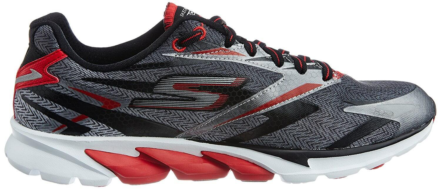 A lateral side view of the Skechers GoRun Ride 4 running shoe