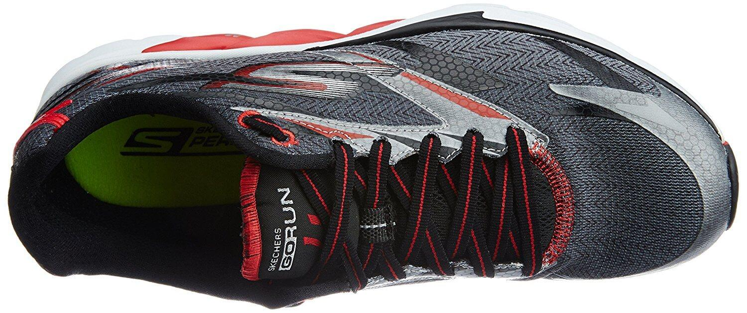 A top view of the Skechers GoRun Ride 4 running shoe