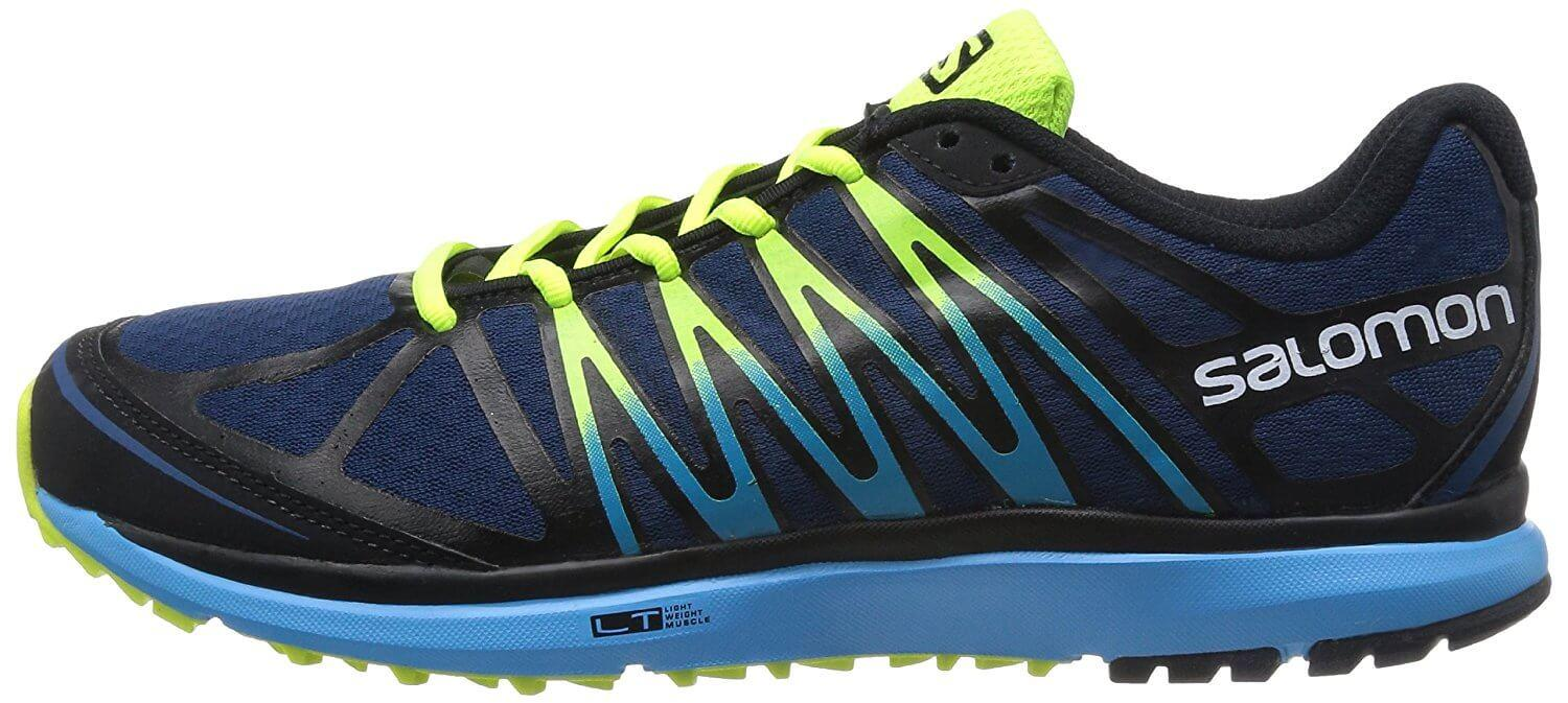 0be35fa427cc1 ... A side view of the Salomon X Tour trail running shoe ...