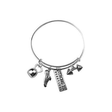 Strong is Beautiful Running Bracelet