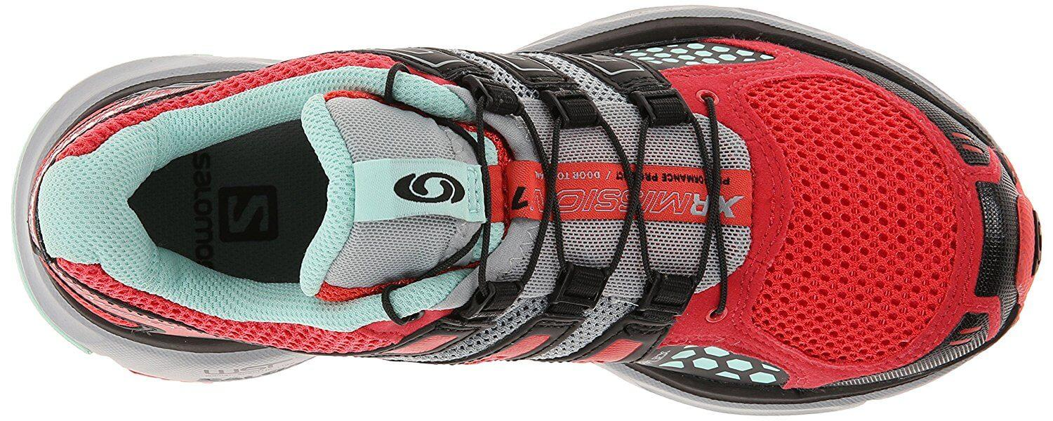 ... A top view of the Salomon XR Mission trail running shoe ... 97318e982f