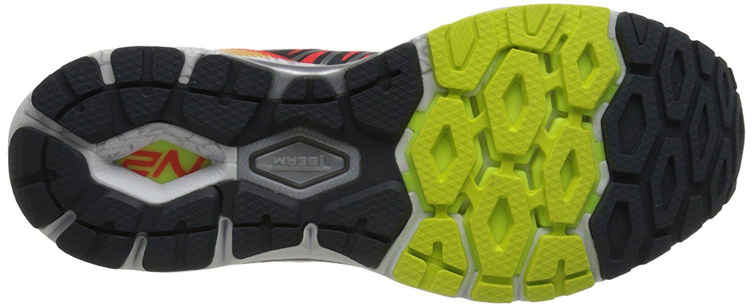Here is the blown rubber outsole that provides good traction