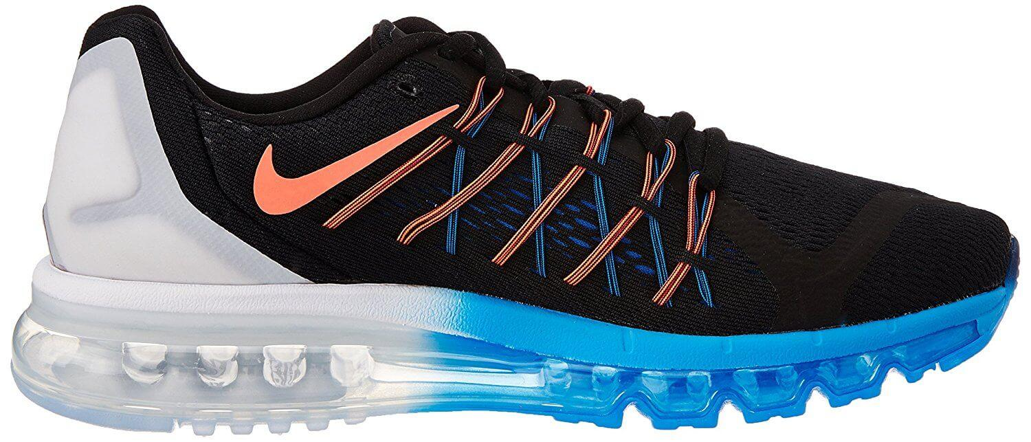 Here is the side profile of the Nike Air Max 2015.