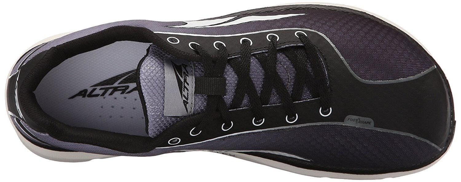 Altra One breathable mesh upper keeps feet cool