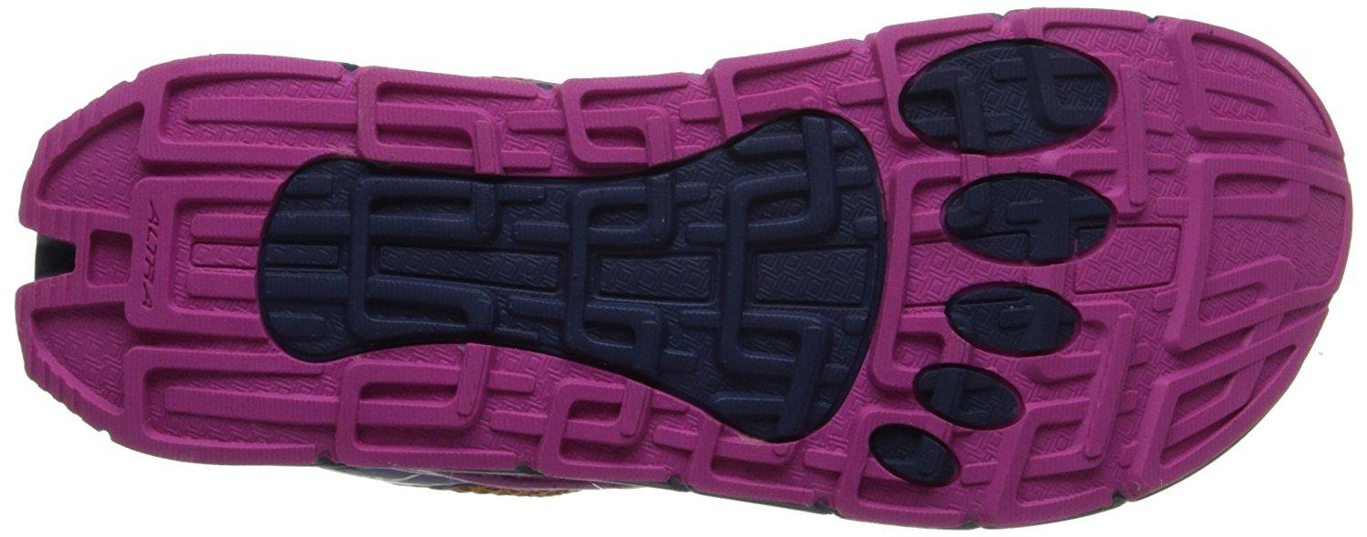 Great traction of the Altra Olympus