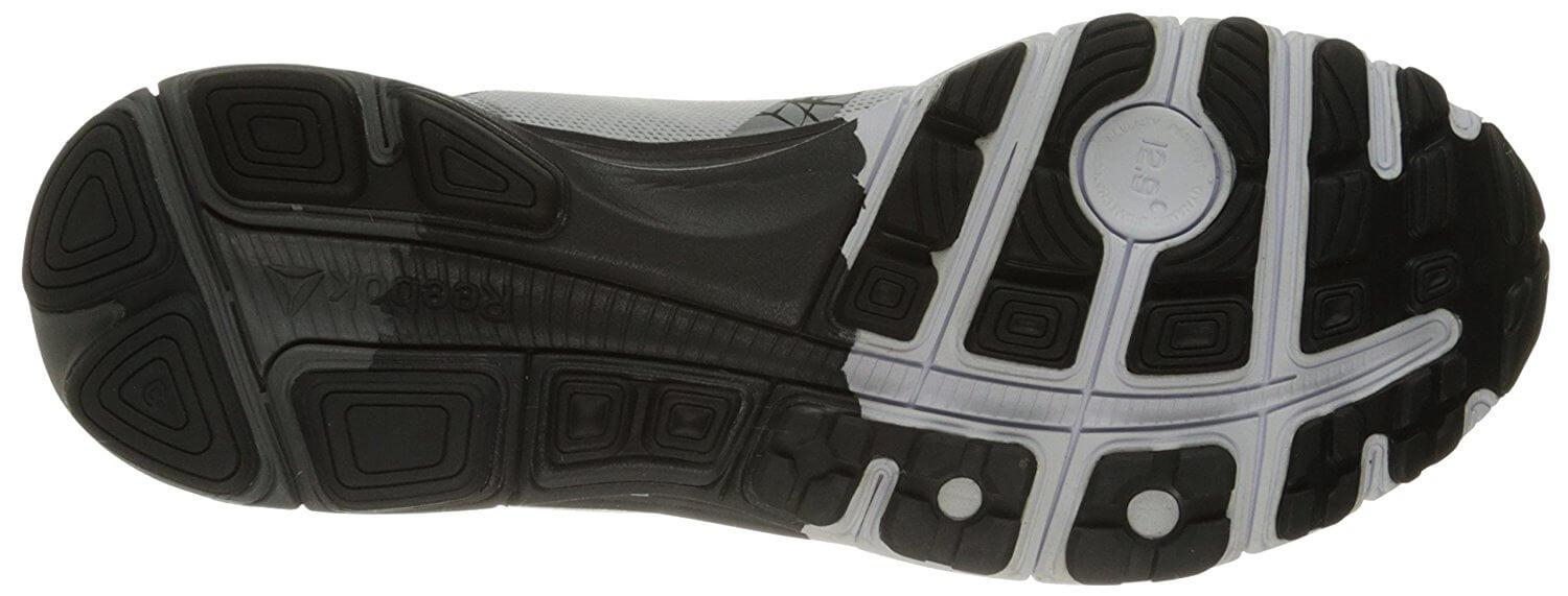the Reebok One Cushion 3.0 has treads for gripping roads