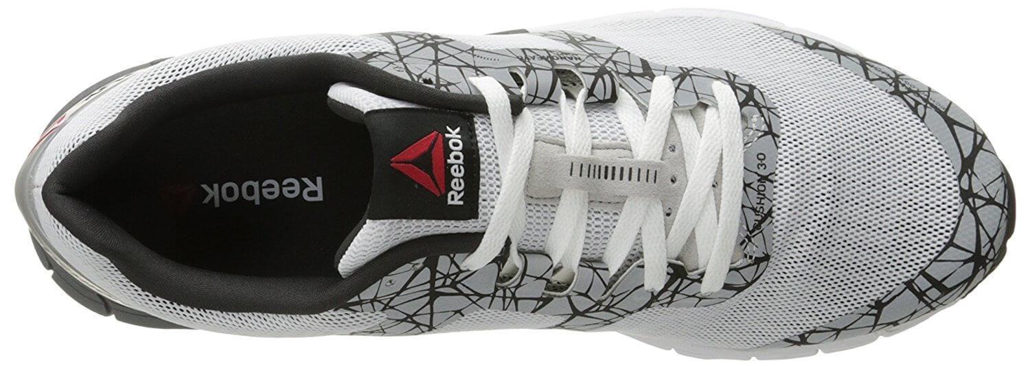 the top of the Reebok One Cushion 3.0