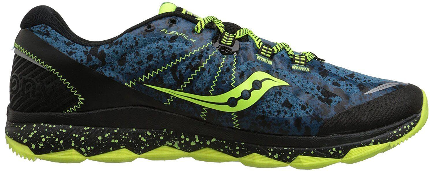 Saucony Nomad TR cushioned midole for a comfortable trail run