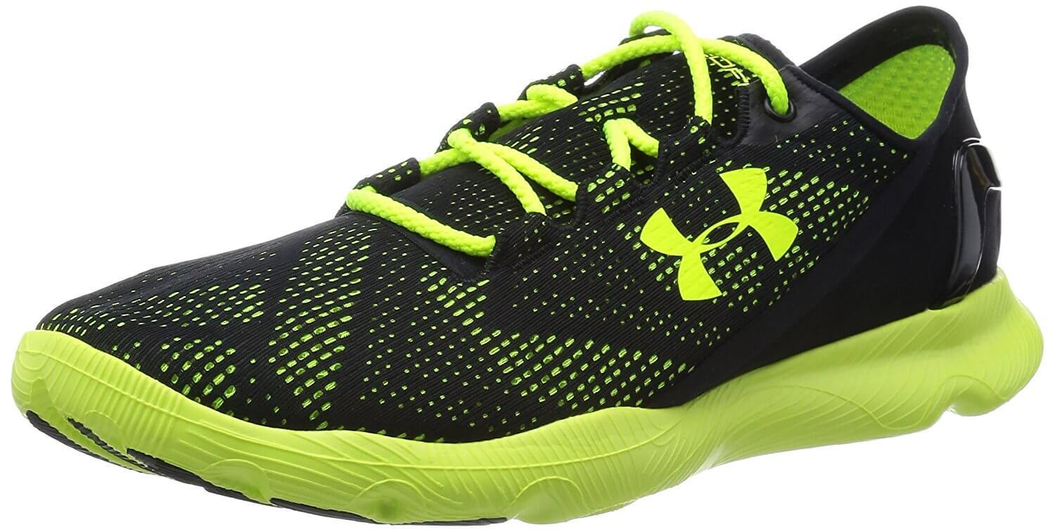 Here is a side view of the Under Armour SpeedForm Apollo Vent