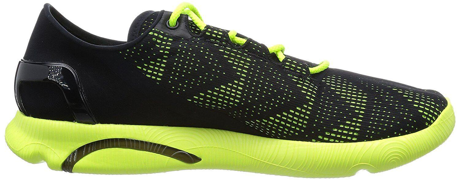 The Under Armour SpeedForm Apollo Vent comes in both bright and subtle color choices