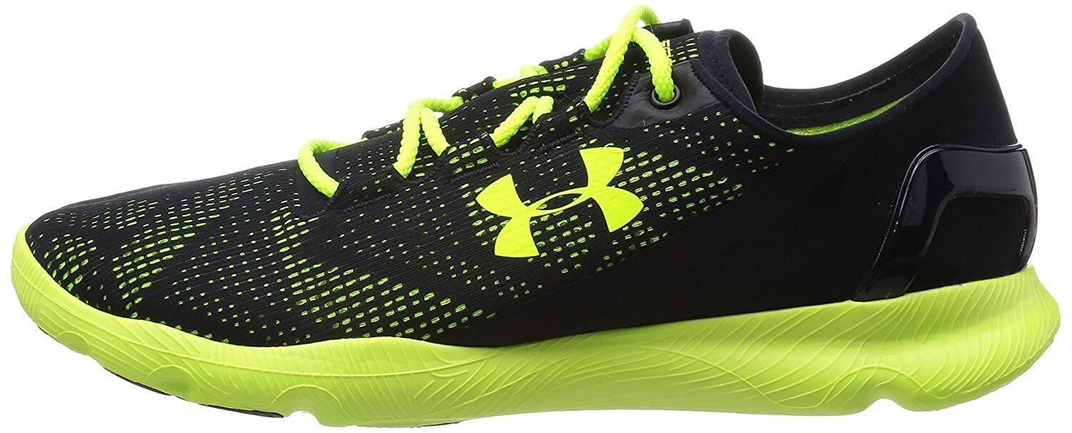 Under Armour SpeedForm Apollo Vent has a sleek design