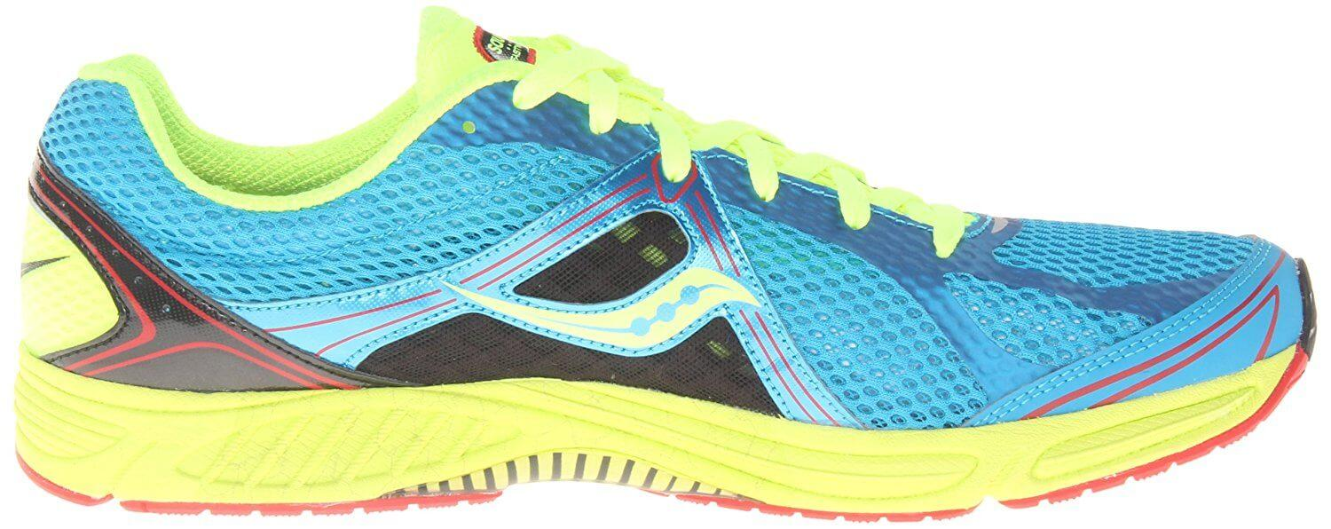 The Fastwitch 6 is a streamline racing shoe with stability.
