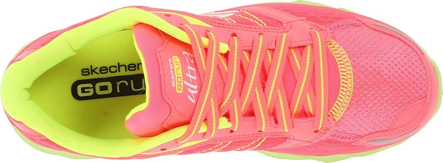 Skechers GoRun Ultra bottom