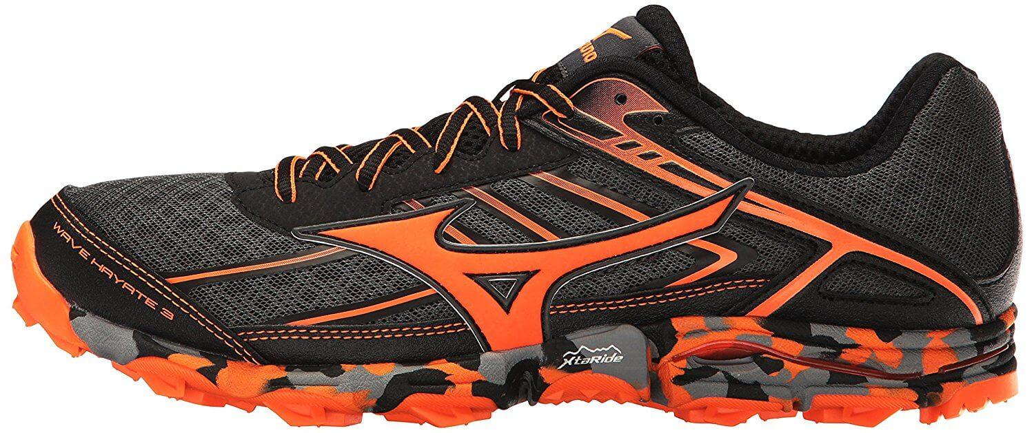 Mizuno Wave Hayate 3 Left Outer midsole
