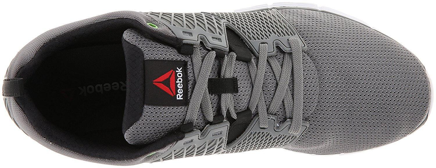 23232e3a423 ... Reebok Zquick Secure lacing system and breathable upper  Reebok ZQuick  dash flexible sole with great traction  Reebok Zquick lightweight running  shoe