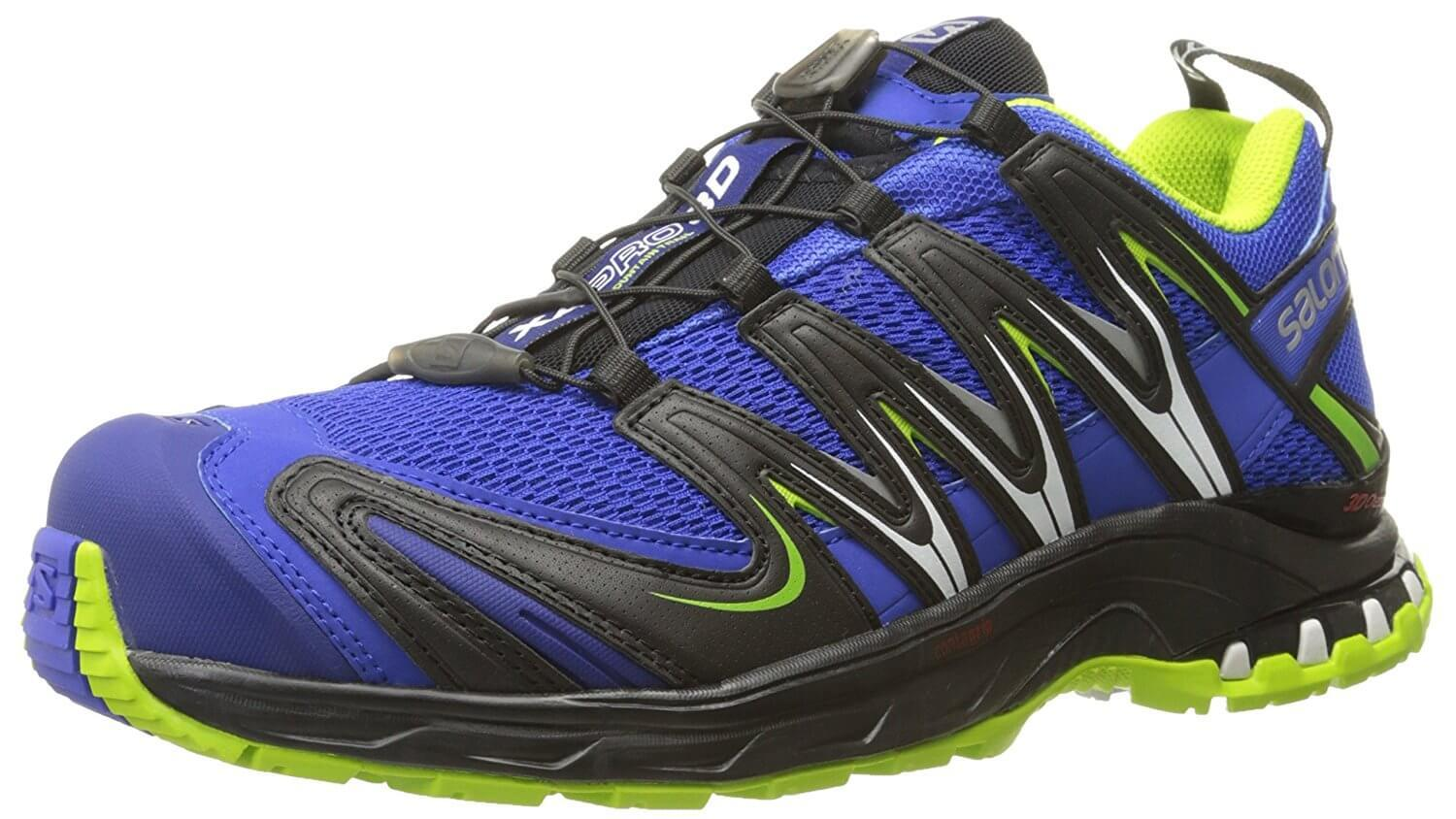 Mens Salomon XA Pro 3D Running Shoes Light Green Buying New