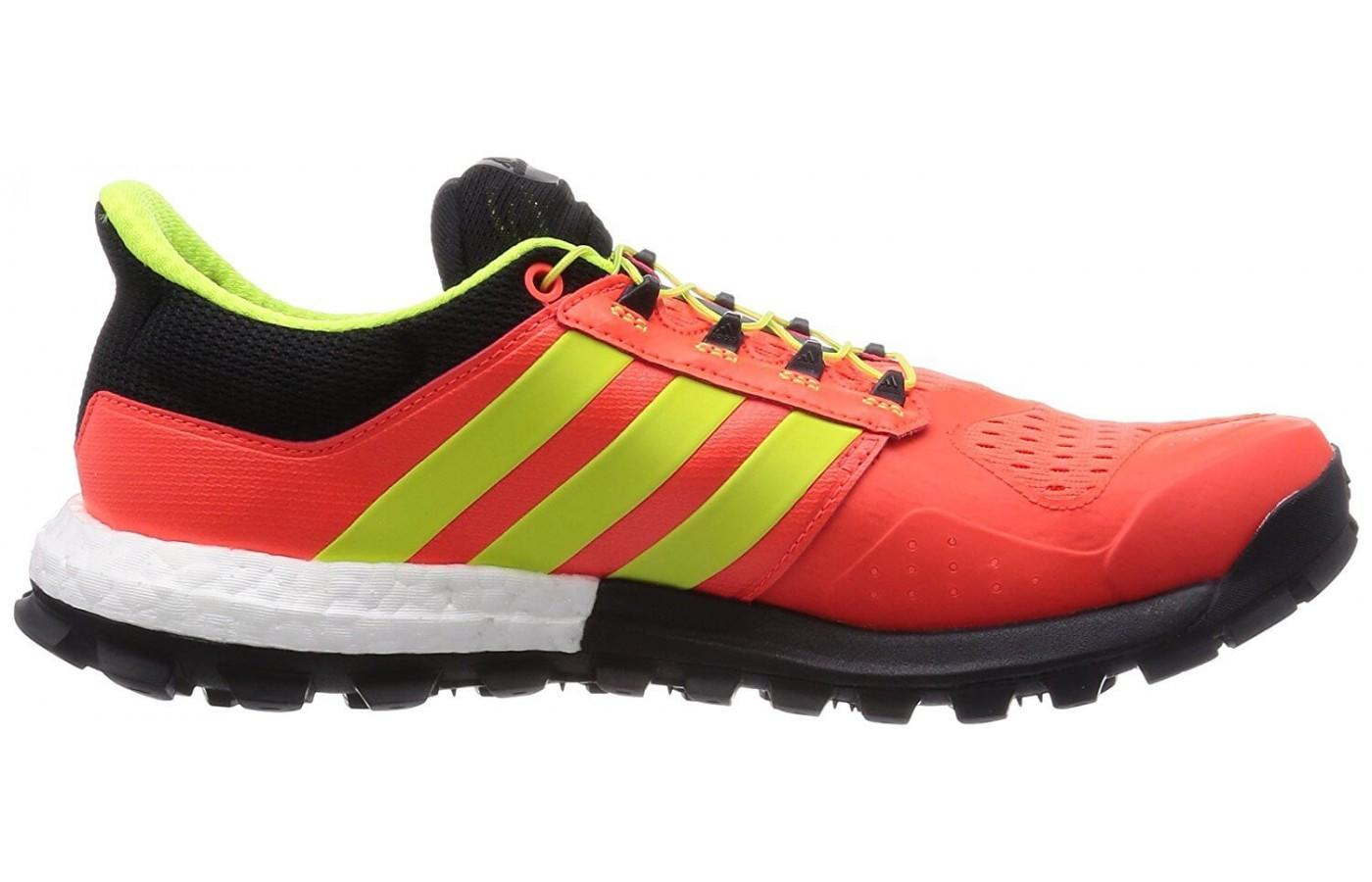 Adidas Adistar Raven has a distinct profile