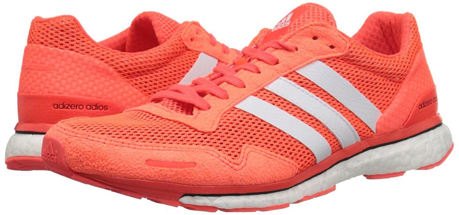 Adidas Adizero Adios Boost 3.0 Eye catching colors