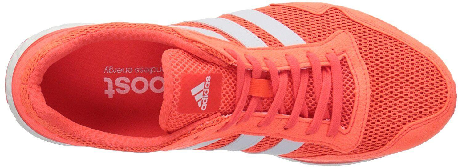 Adidas Adizero Adios Boost 3.0 breathable upper