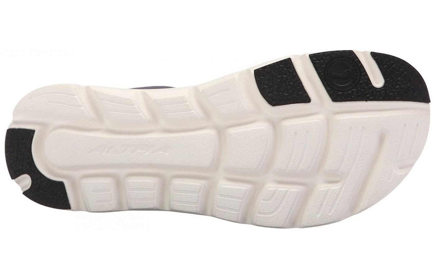 Zero Drop Outsole of the Altra One 2.5