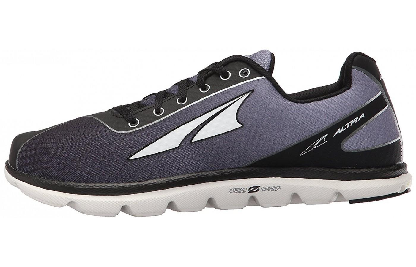 Sleek design of the lightweight Altra One 2.5