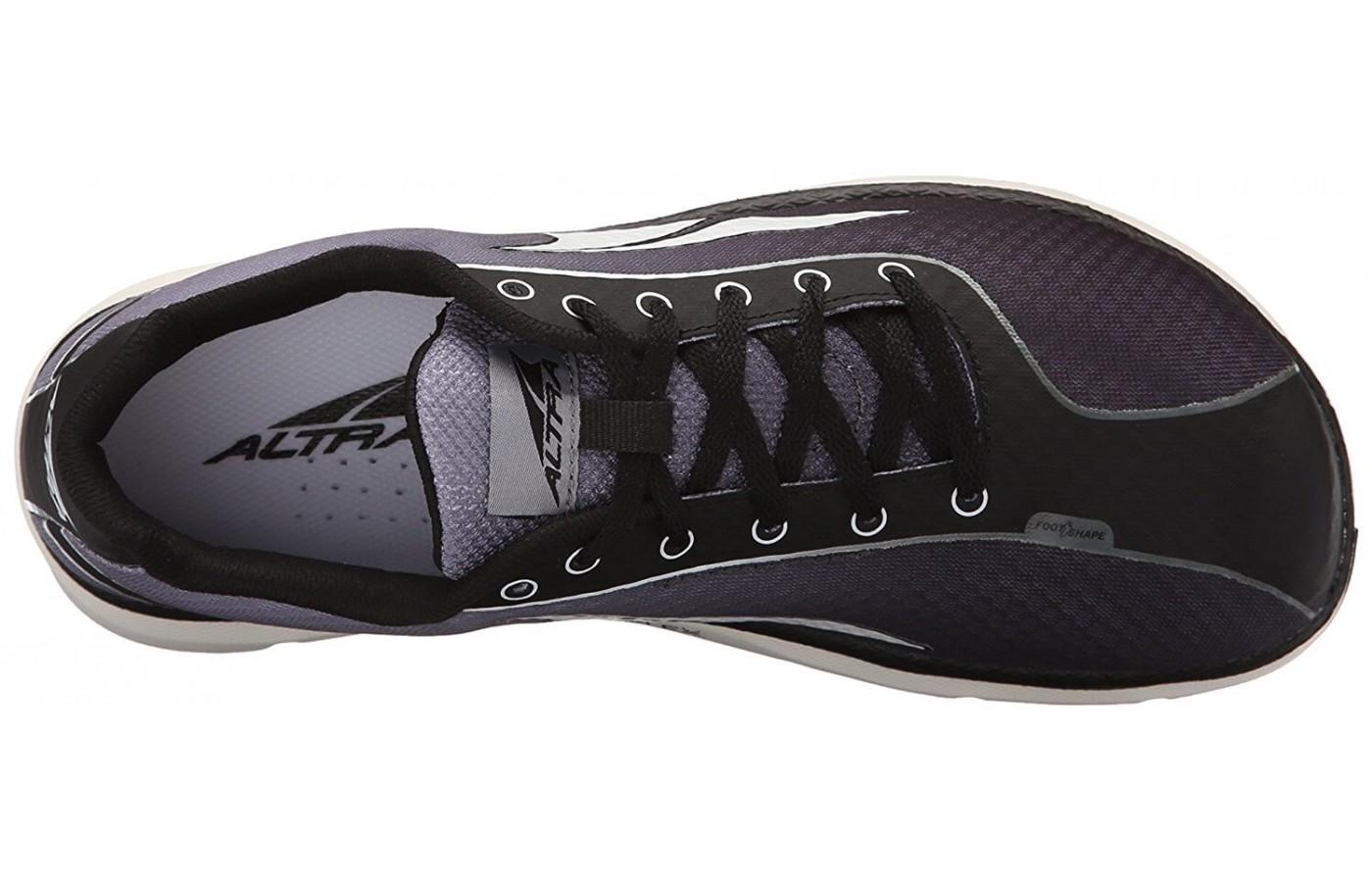 Breathable Mesh Upper of the altra one 2.5