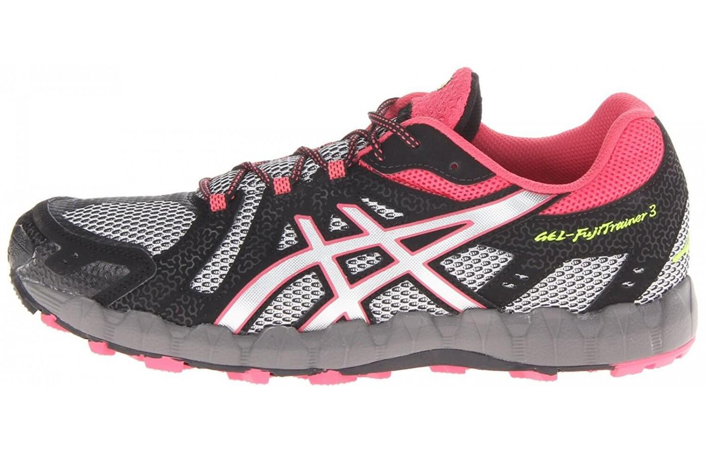 A good look at the side of the Asics Gel FujiTrainer 3