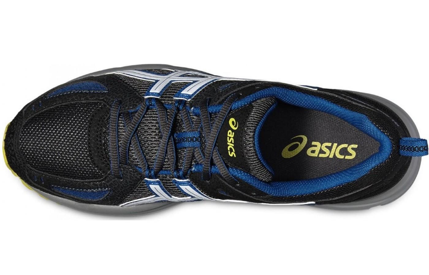 the upper of the Asics Gel Tambora 5 is made of synthetic and mesh for lightweight breathability