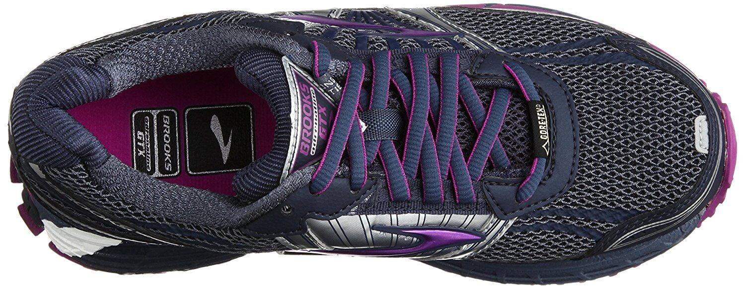 139a8eecbfee9 ... the Brooks Adrenaline ASR 11 GTX is both breathable and waterproof ...