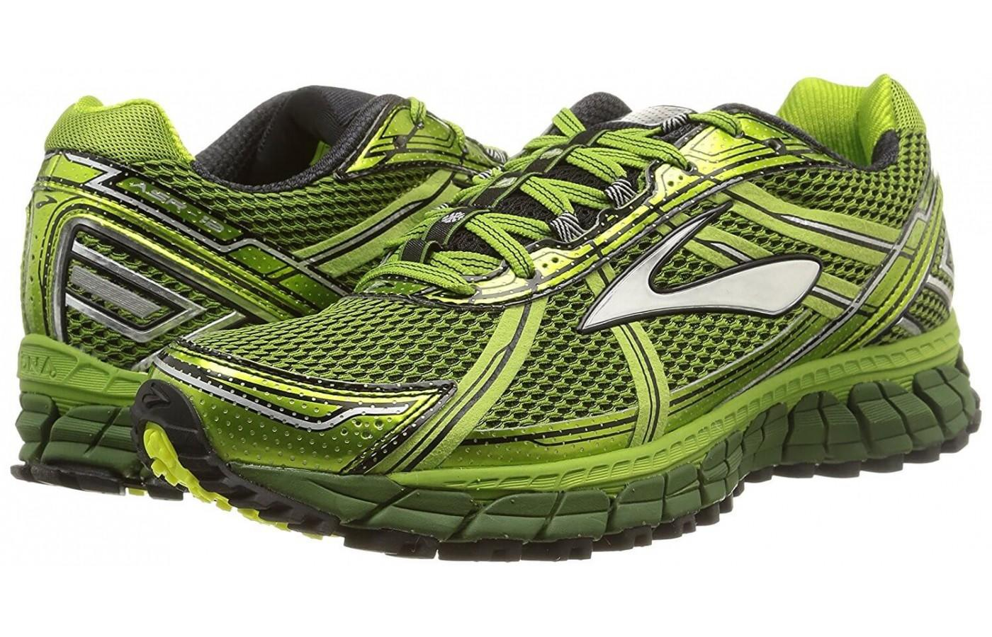 a pair of Brooks Adrenaline ASR 12 shoes